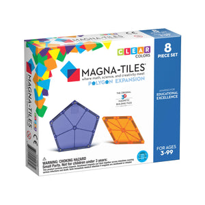 Magna-Tiles Polygons 8 Piece Expansion Pack from Valtech