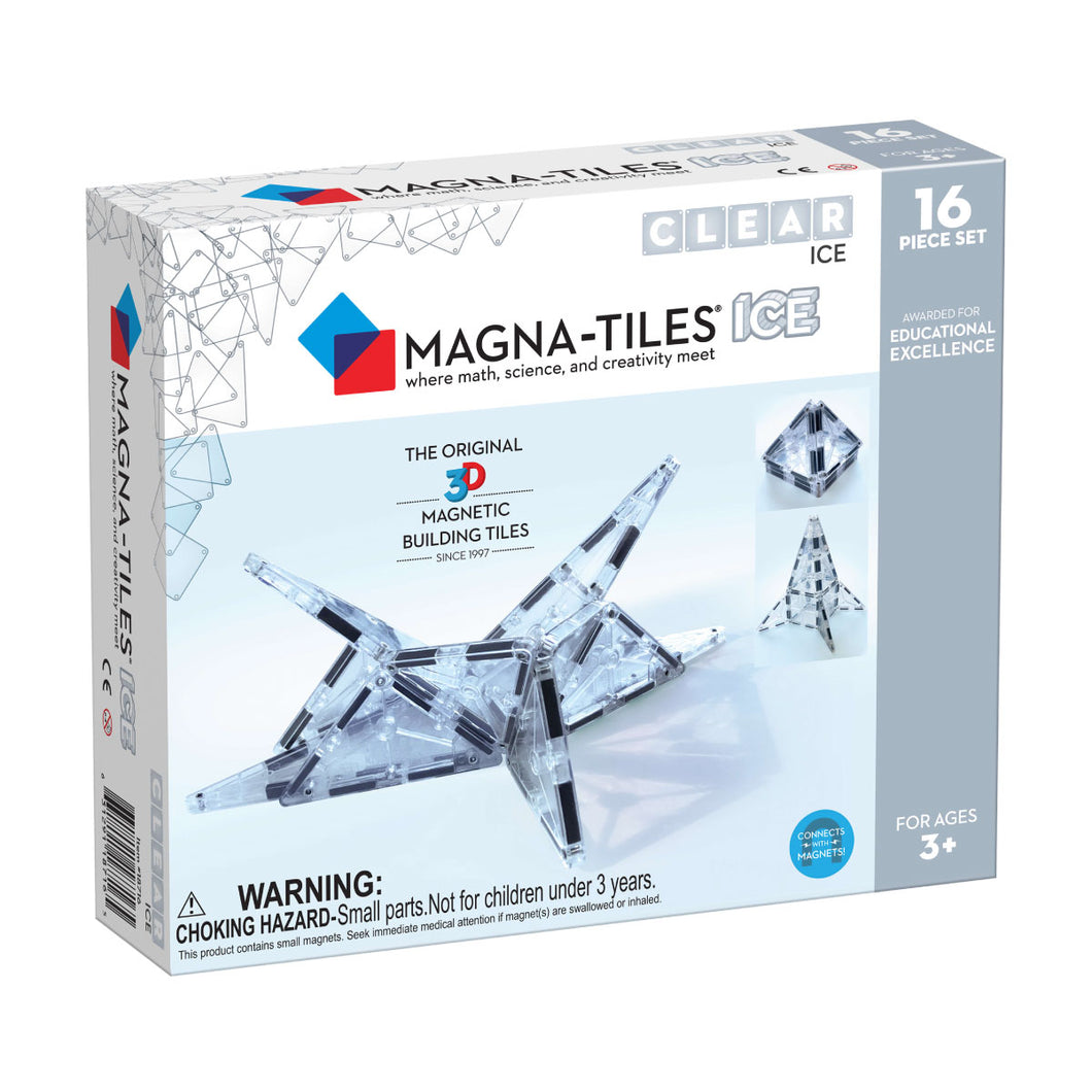 Magna-Tiles Ice 16 Piece Set from Valtech
