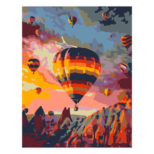 Artwille Flight Over the Rock Paint By Number Kit