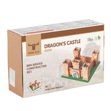 Load image into Gallery viewer, Wise Elk Dragon's Castle Mini Bricks Constructor Set - 1080 pcs