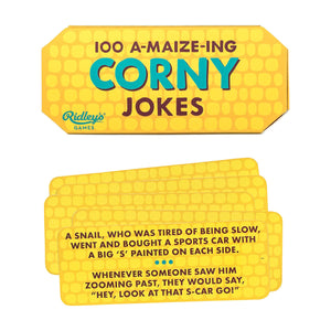 100 A-Maize-Ing Corny Jokes from Ridley's Games