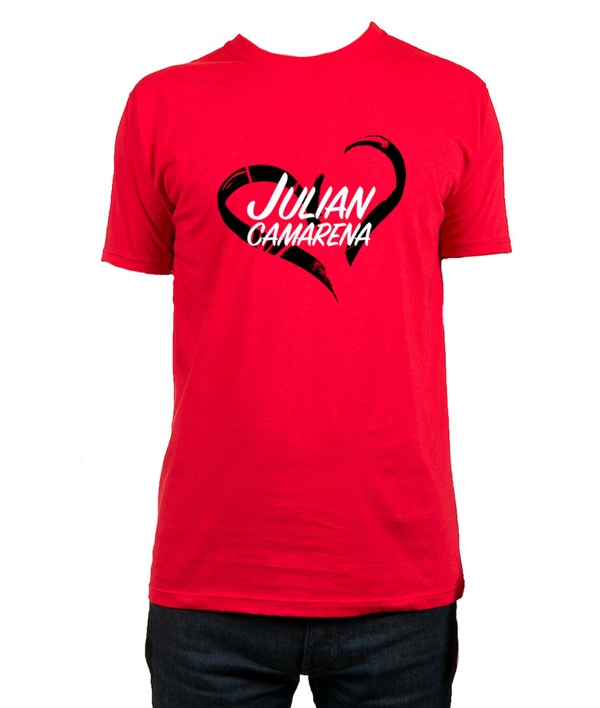 Julian Camarena Heart T-Shirt
