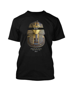KING OF ME TEE BLACK - Crave Clothing Line  - 1