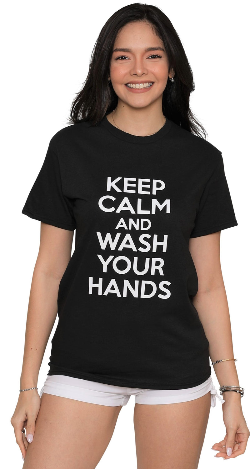 Keep Calm T-Shirt Adults, Unisex, Cotton