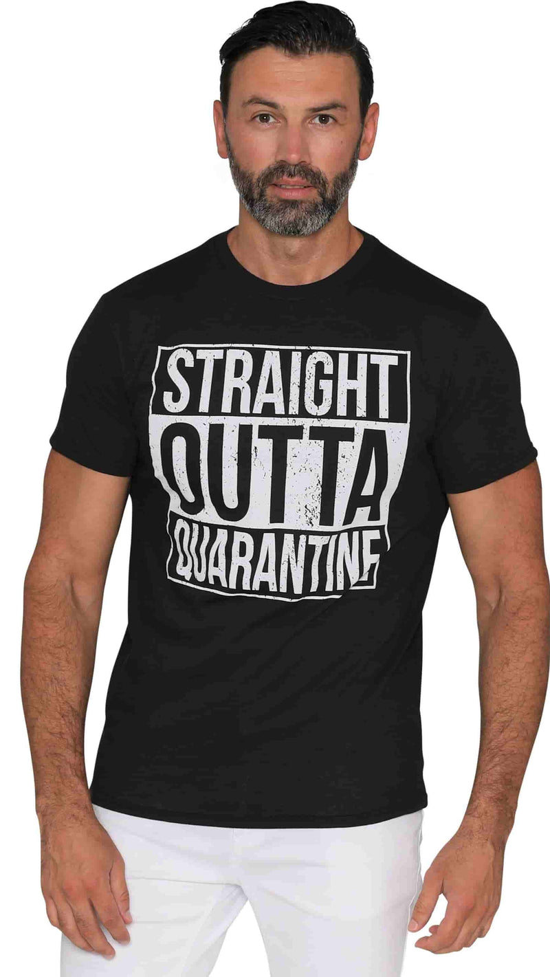 Straight Outta Funny T-Shirt For Men Women Adults - Supply Band