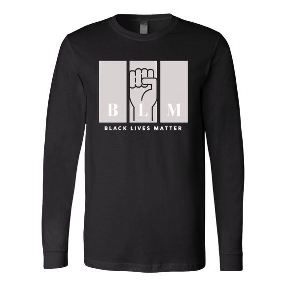 Black Lives Matter Long Sleeve Shirt for Adults BLM Black Lives Matter Unisex Shirt