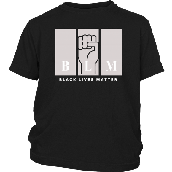 Black Lives Matter T-Shirt for Kids YOUTH BLM T-Shirt American Apparel Black Lives Matter Shirt