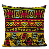 Ethnic Style Cushion Cover African Tribal Geometric Pattern Decorative Pillow Cover Linen Pillowcase for Sofa Home Decor