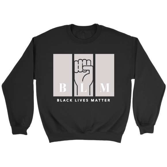 Black Lives Matter Sweatshirt for Adults BLM Black Lives Matter Unisex Sweatshirt