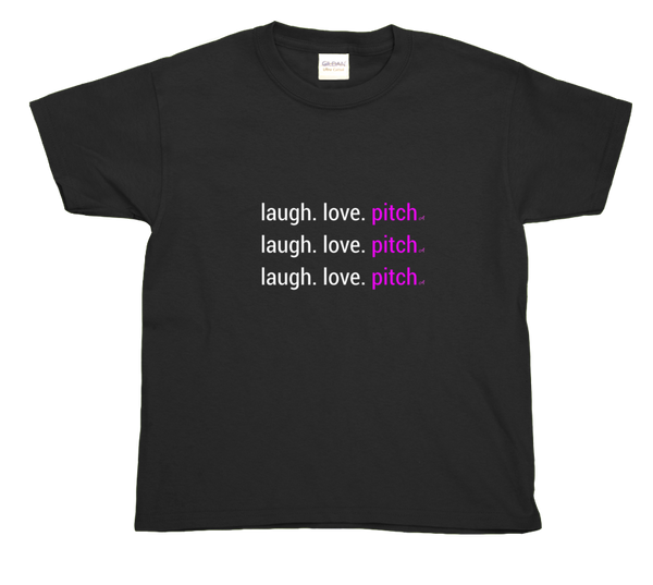 laugh. love. pitch kids