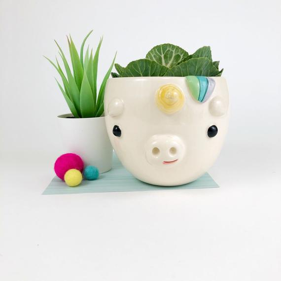 Unicorn Planter/Bowl, Small
