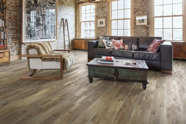 Kahrs Oak Stone HF783 Engineered Wood