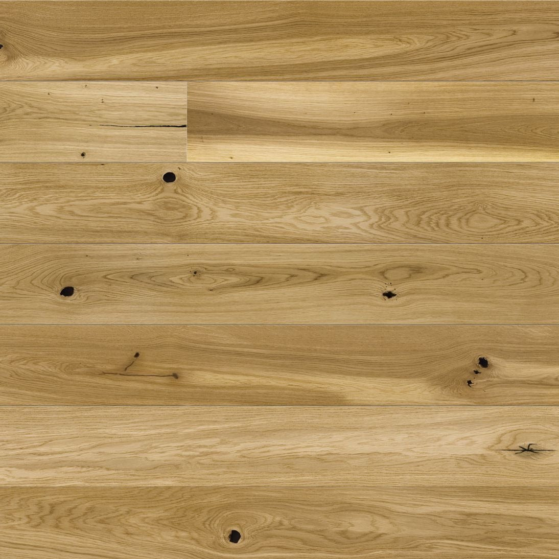 Oiled natural engineered board