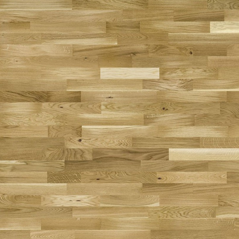 3-Strip natural wood flooring board