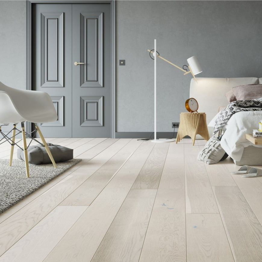 Matt Lacquered Wide Engineered Flooring  (5351828193437)