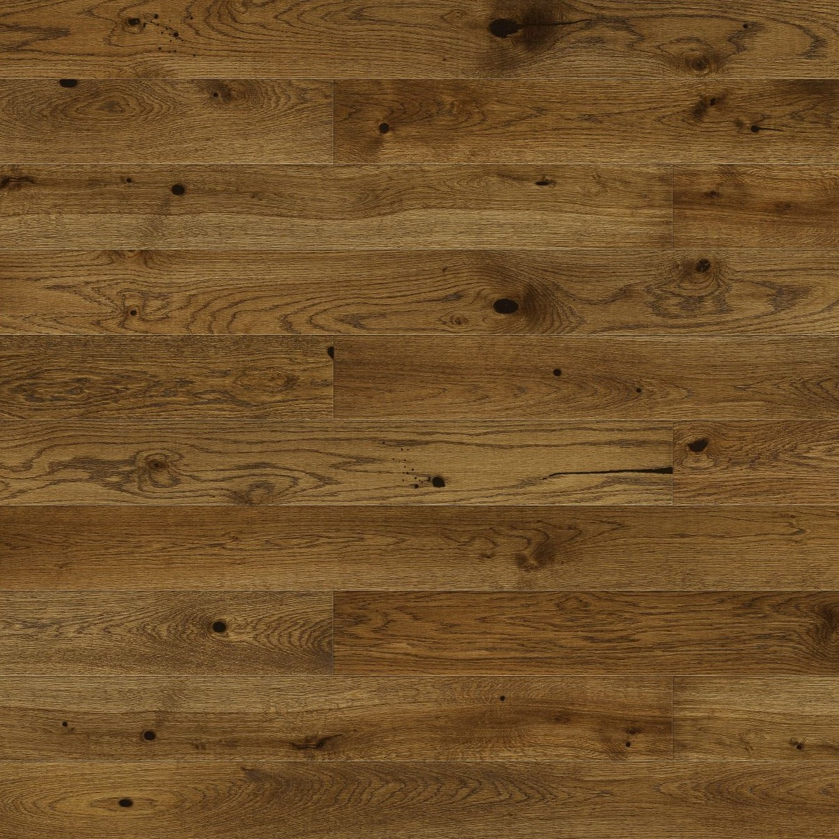 Rustic dark brown engineered flooring (5351829799069)