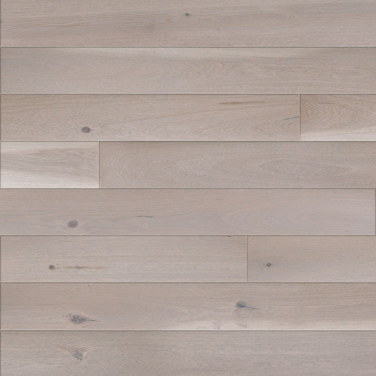 Matt lacquered grey flooring