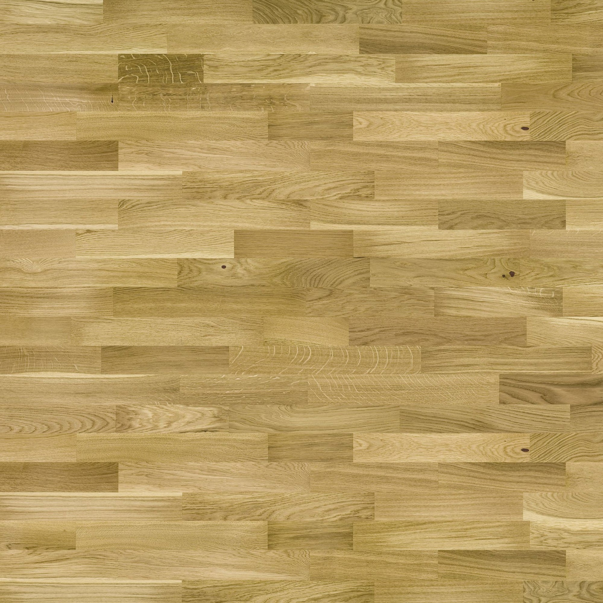 3-strip matt lacquered real wood flooring