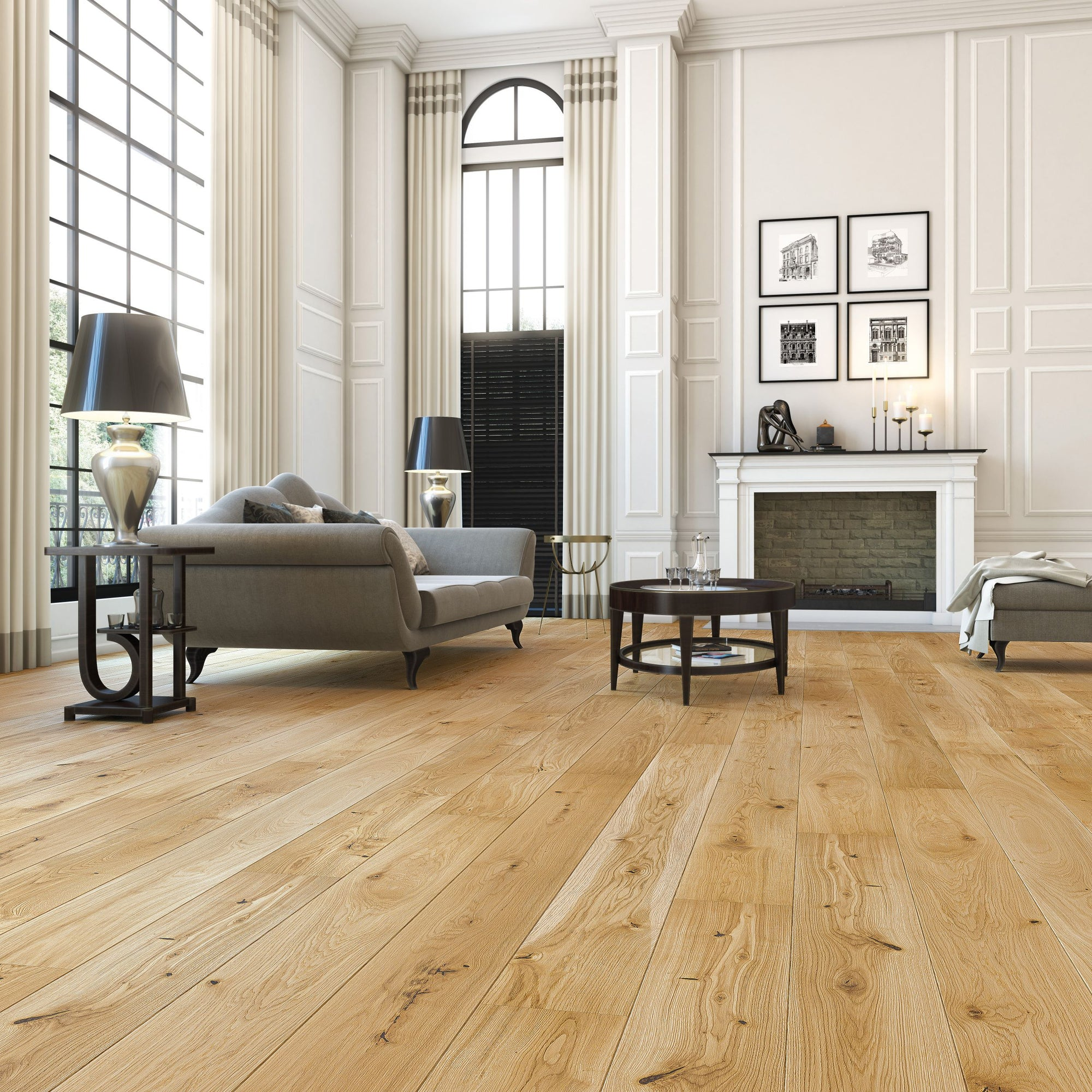 Rustic oak flooring in natural colour (5351830388893)