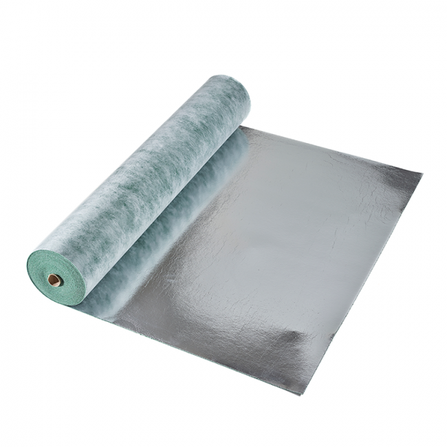 2mm Laminate Underlay with Integrated Moisture Barrier - 15m2 Roll