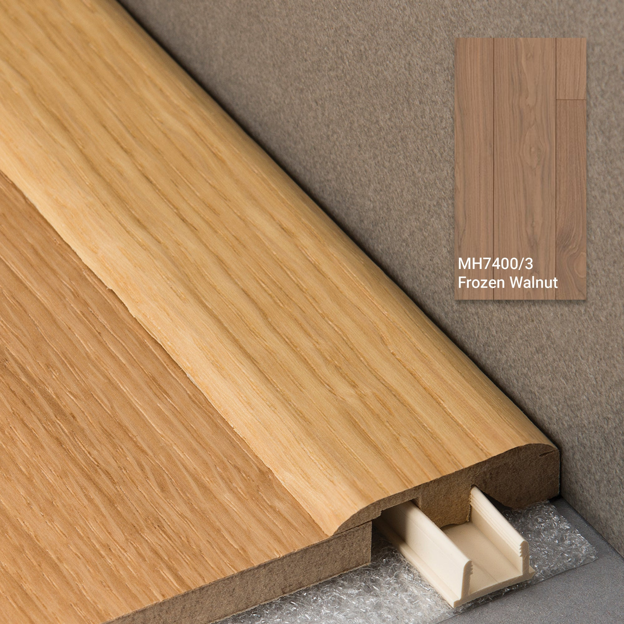3 in 1 Profile Frozen Walnut 2150mm Length