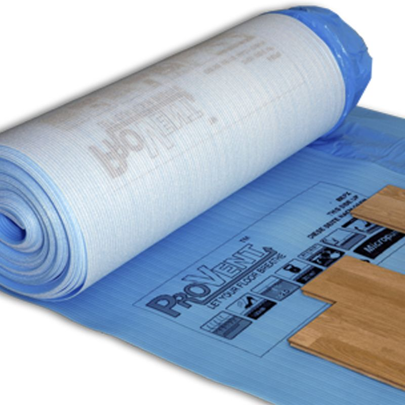 ProVent Flooring Underlay for use with laminate and parquet