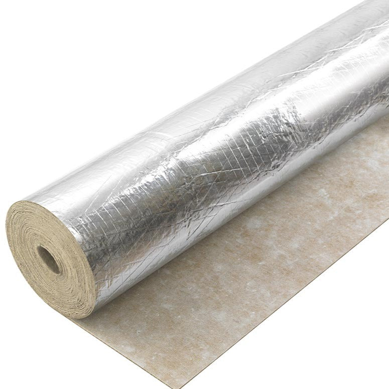 Silver Rubber Foil Backed Underlay 3mm