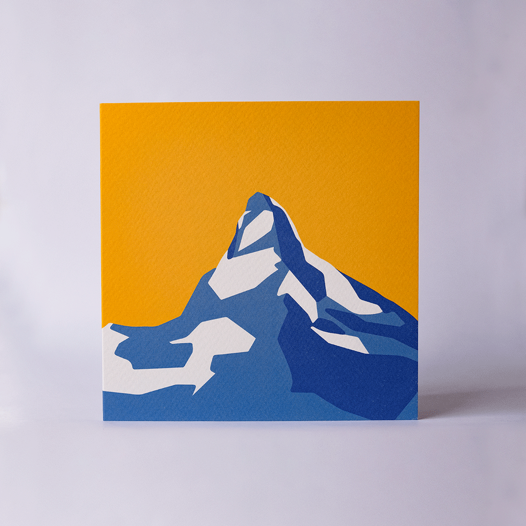 Matterhorn - Yellow - Card