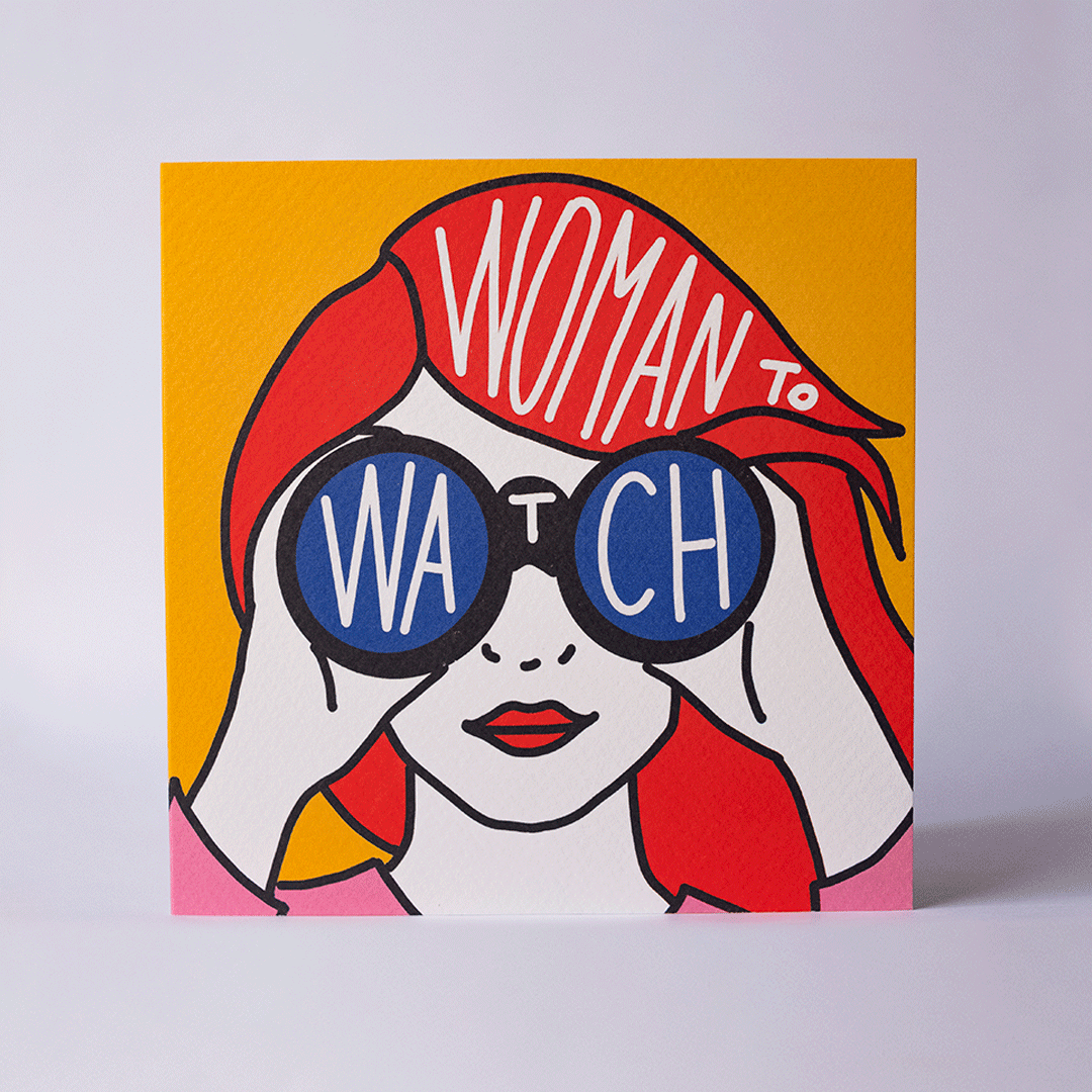 Woman to Watch - Card