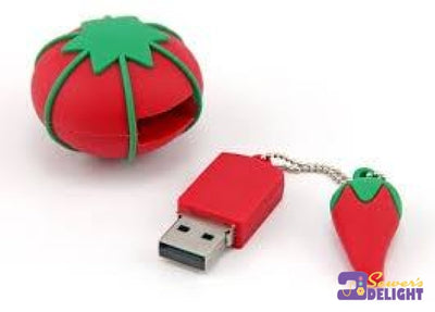 Usb 2Gb Pin Cushion Tomato Red General