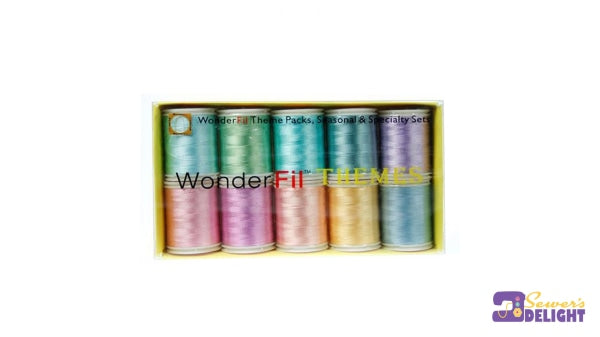 Wonderfil Embroidery Thread-Pastel Threads