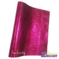 Ws Metallic Soft Vinyl Roll 60Cm X 140Cm / Pink Babe Vinyls Leathers & Plethers
