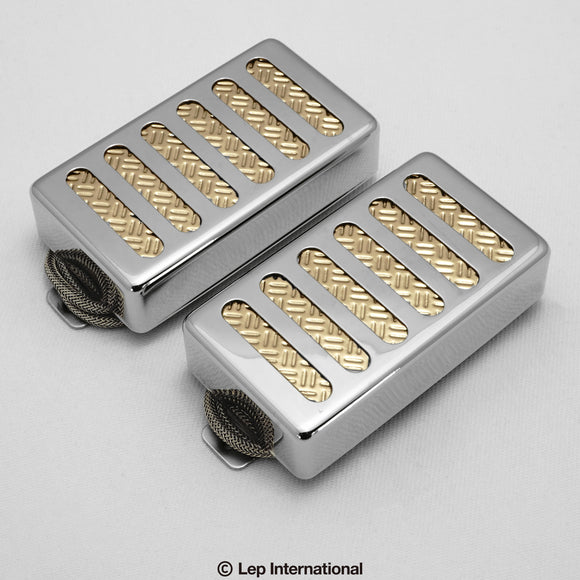 Righteous Sound Pickups 21:21 Set Nickel Cover / Gold Foil / ギター ピックアップ ハムバッカー