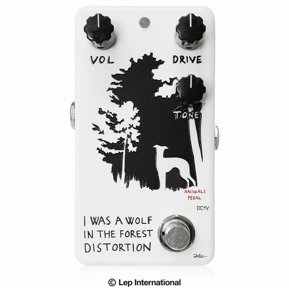 Animals Pedal I Was A Wolf In The Forest Distortion / アニマルズペダル ギター エフェクター ディストーション