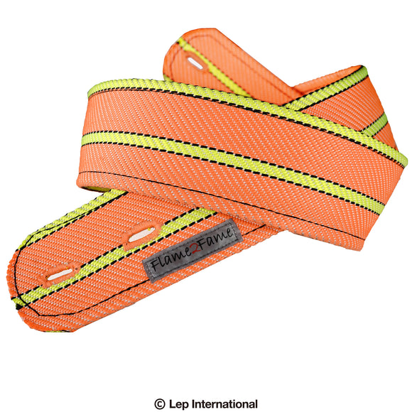 Flame2Fame Orange Neon Double Strap