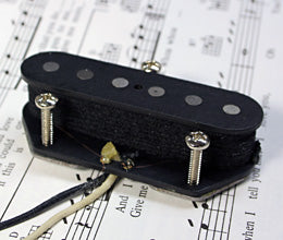 Lundgren Telecaster Hot Bridge 11K 単品/ブリッジ側