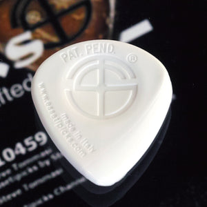 Essetipicks ZIRIYAB Mini White 右利き用(R):1枚