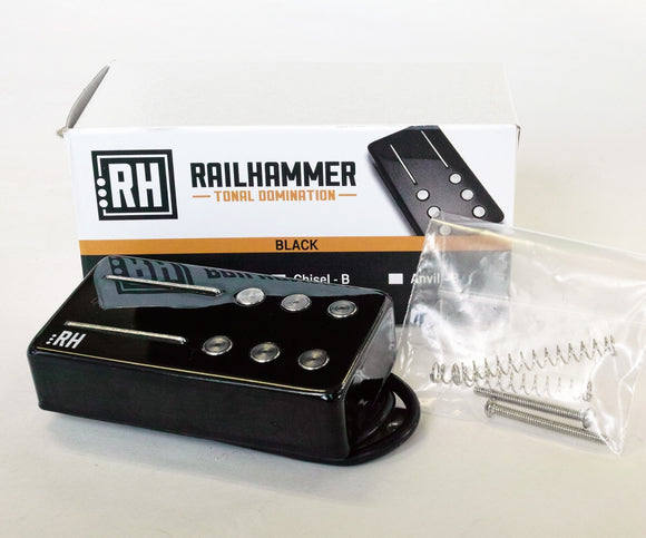Railhammer Pickups Hyper Vintage Black Set