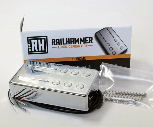 Railhammer Pickups Hyper Vintage Set Chrome