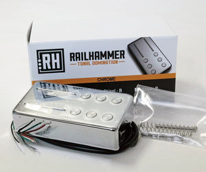 Railhammer Pickups Chisel Chrome 単品 ブリッジ側
