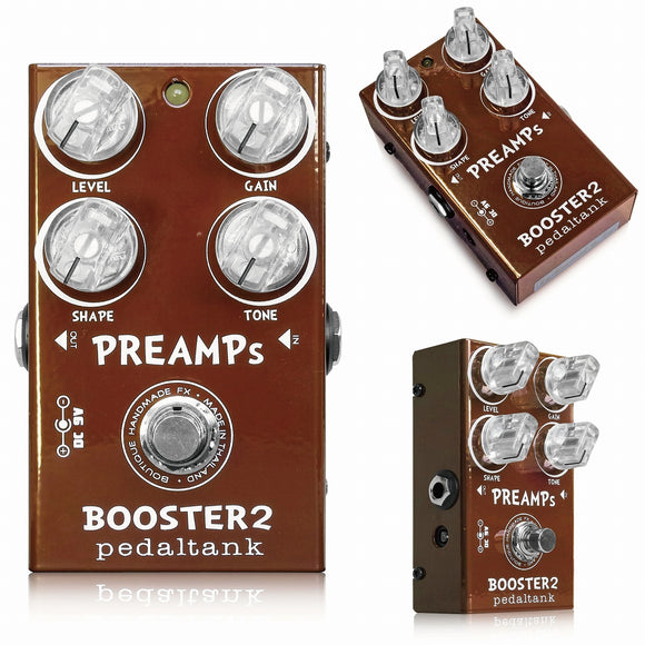 Pedal Tank PreAmps Booster 2