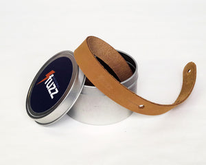 Original Fuzz  Skinny Leather Strap in Tan Mediumm