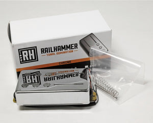Railhammer Pickups Alnico Grande Chrome Bridge