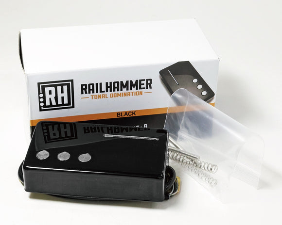 Railhammer Pickups Nuevo 90 Black Bridge