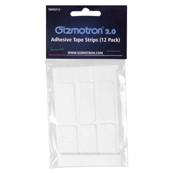 Gizmotron 12 Pack Adhesive Tape Strips 【ゆうパケット対応可能】
