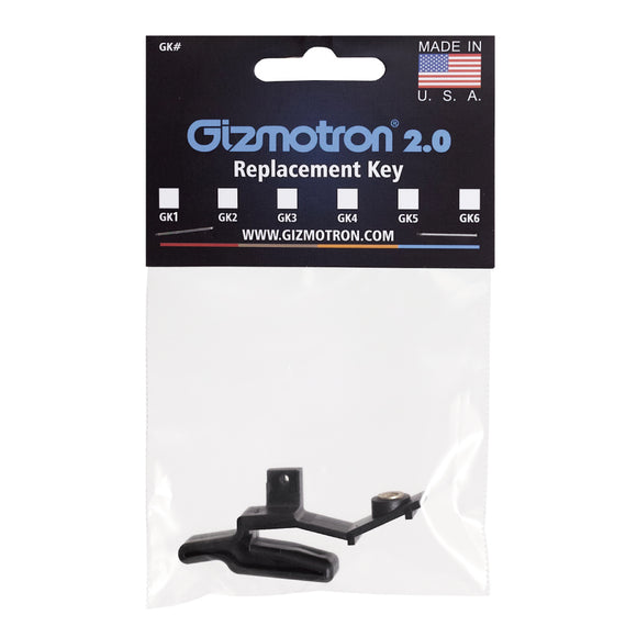 Gizmotron Replacement Guitar Key #4 (D String) 【ゆうパケット対応可能】