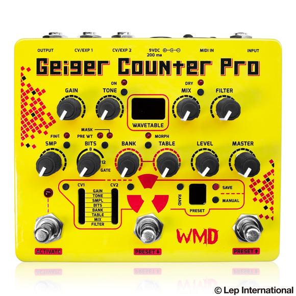 WMD Geiger Counter Pro (動画あり)