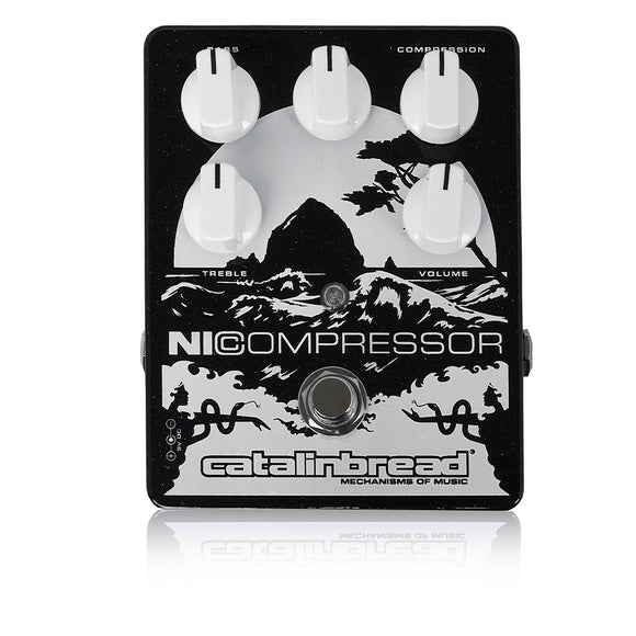 Catalinbread Ni Compressor Black/Silver / コンプレッサー エフェクター