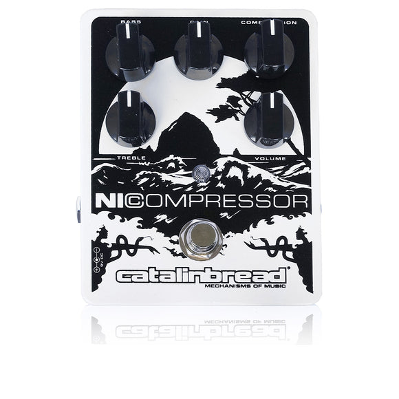 Catalinbread Ni Compressor White Soft Pearl / コンプレッサー エフェクター