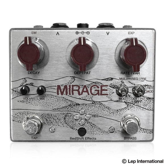 RedShift Effects MIRAGE / ディレイ エフェクター